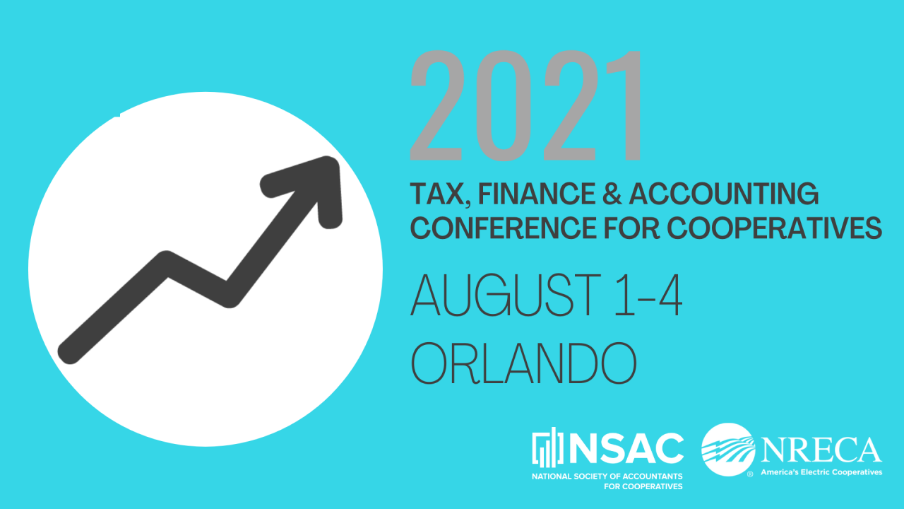 2021 Tax Finance & Accounting Conference for Cooperatives