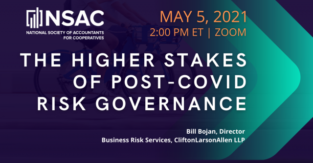 The Higher Stakes of Post-COVID Risk Governance