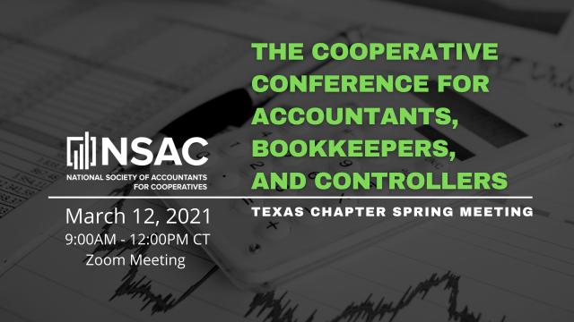 Texas Chapter: The Cooperative Conference for Accountants, Bookkeepers, and Controllers