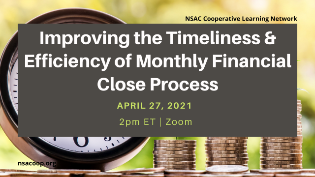 Improving the Timeliness & Efficiency of Monthly Financial Close Process